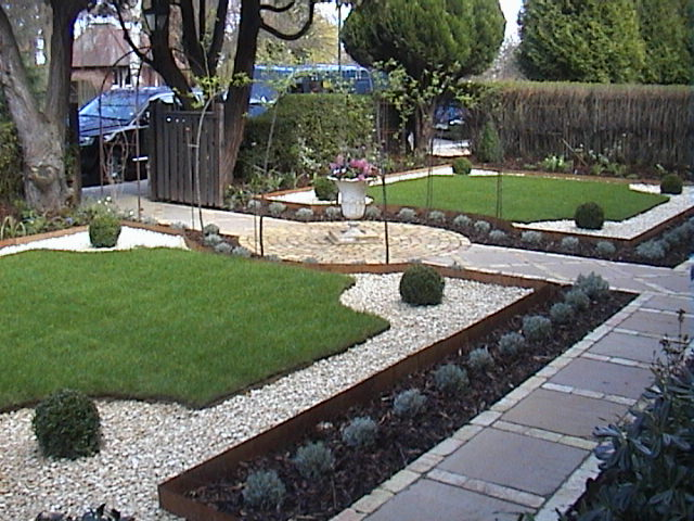 Front garden project north london woodstone landscaping